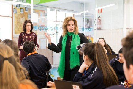 Taller Junior Achievement en Emprendedores 4º ESO
